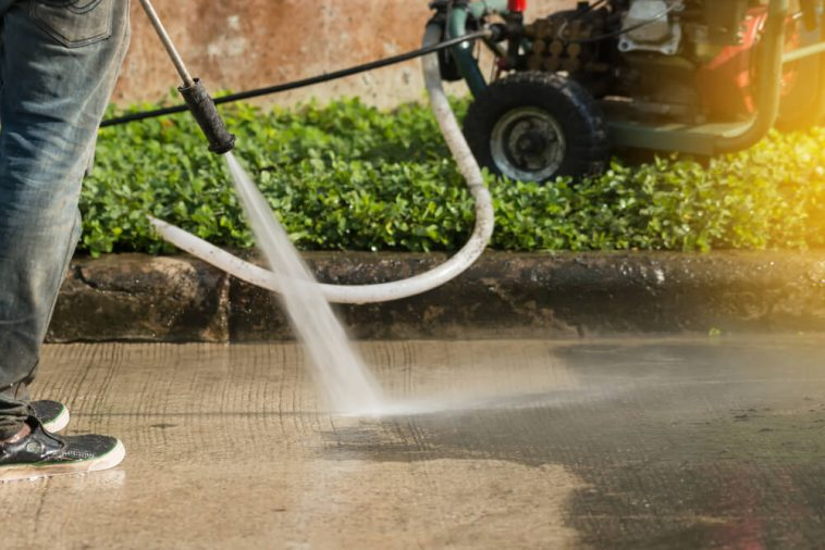 Clean Your House with Pressure Washing